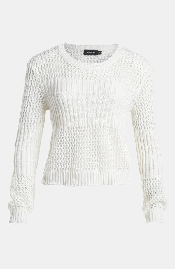 Alternate Image 1 Selected - MINKPINK 'Caught Up' Sweater