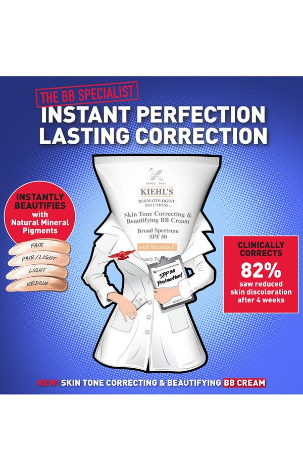 Alternate Image 2  - Kiehl's Since 1851 Actively Correcting & Beautifying BB Cream Broad Spectrum SPF 50