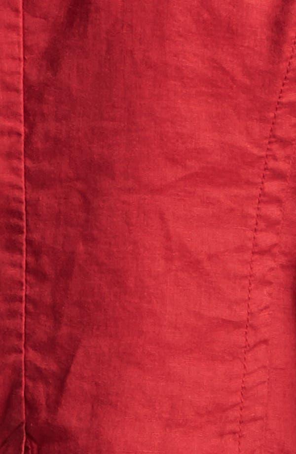 Alternate Image 3  - Caslon® Two Button Linen Jacket (Regular & Petite)