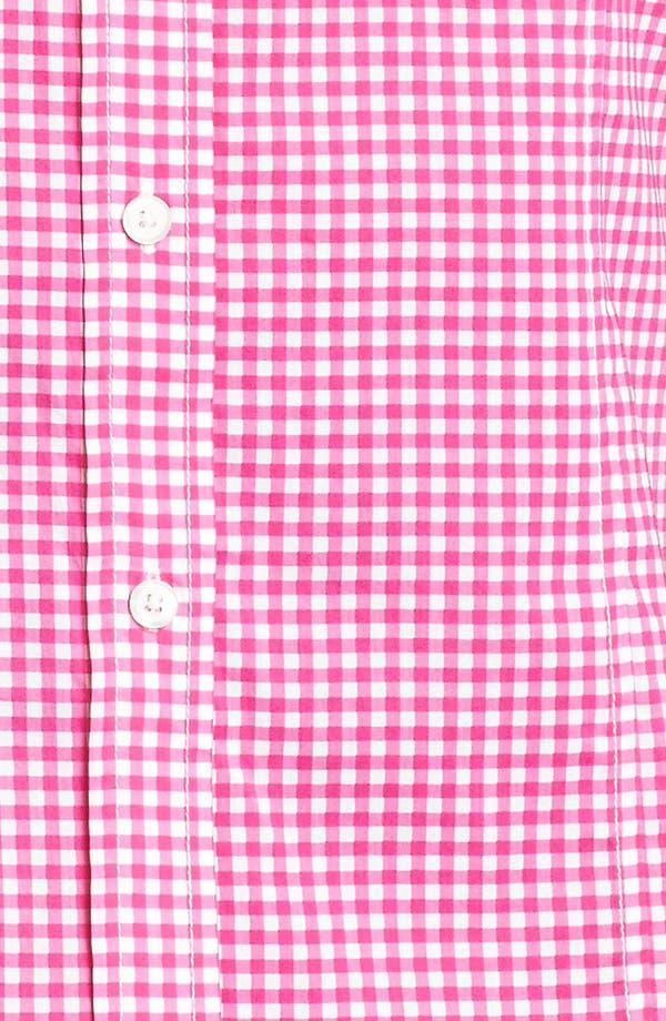 Alternate Image 3  - MICHAEL Michael Kors 'Oxford' Gingham Shirt (Plus)