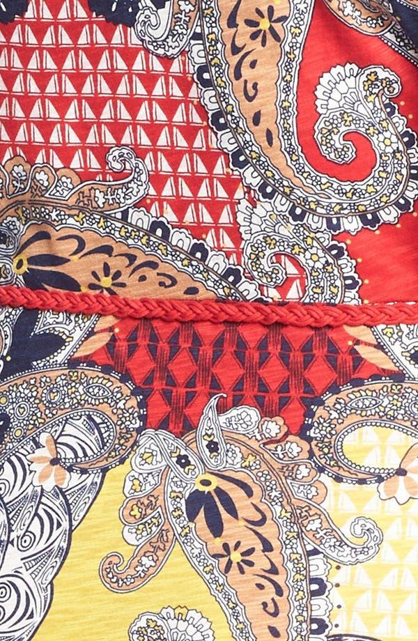 Alternate Image 3  - Lucky Brand 'Marrakesh' Paisley Print Maxi Dress (Plus Size)