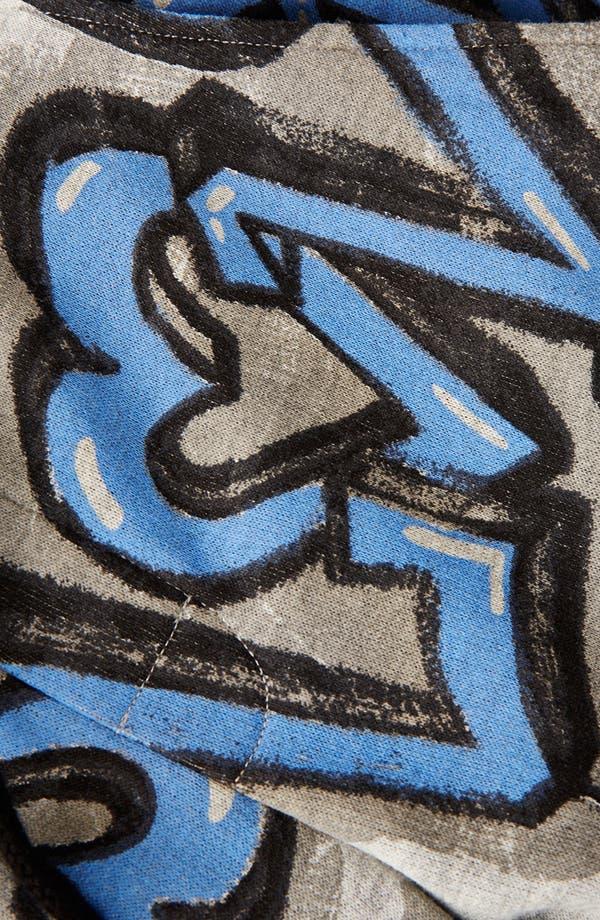 Alternate Image 4  - Topshop 'Graffiti' Crop Jogging Pants