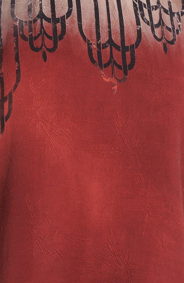 Alternate Image 3  - Citron Three Quarter Sleeve Silk Tunic