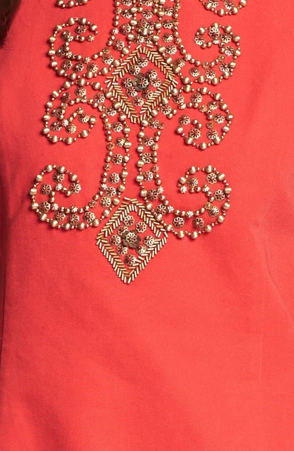 Alternate Image 3  - Ellen Tracy Embellished Sleeveless Sheath Dress