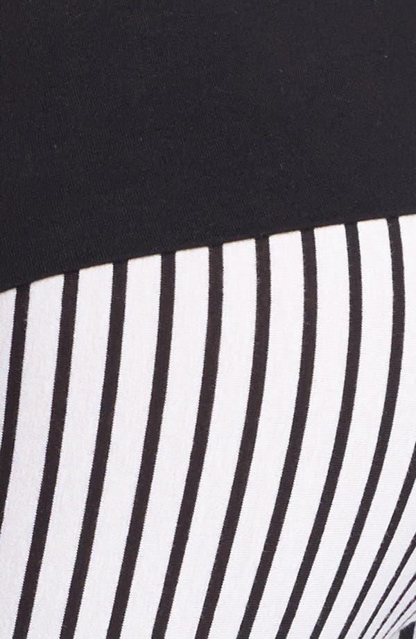 Alternate Image 3  - Hard Tail Vertical Stripe Leggings (Online Only)