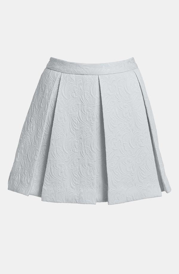 Alternate Image 1 Selected - Tildon Full Box Pleat Skirt