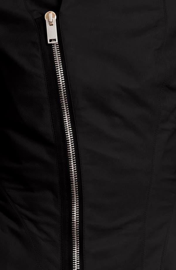 Alternate Image 3  - Rick Owens Calfskin Leather Jacket