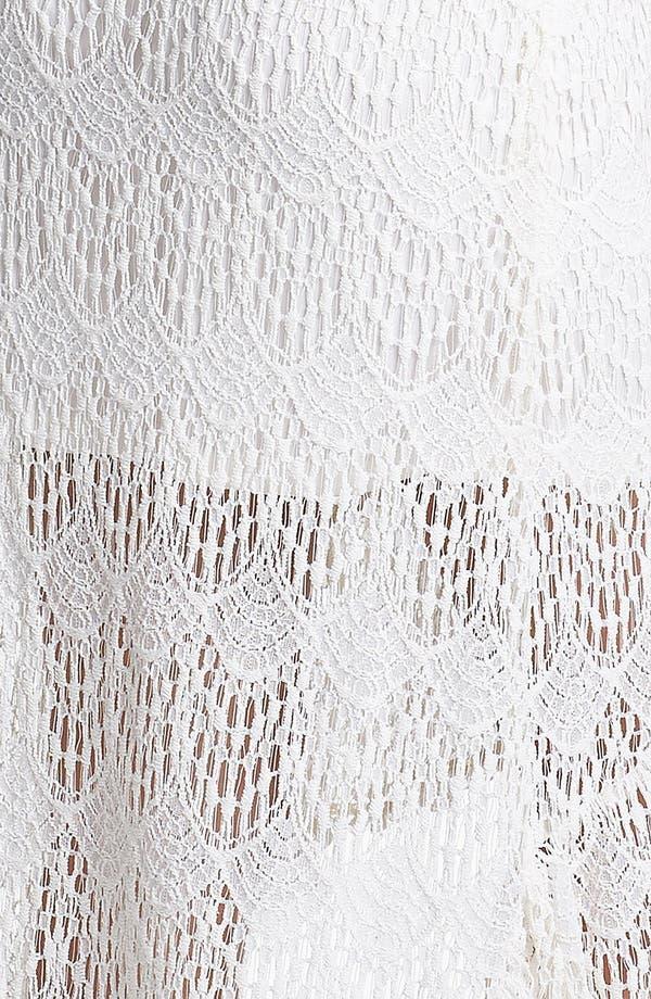 Alternate Image 3  - Lily White Ruffle High/Low Skirt (Juniors)