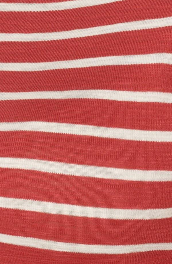 Alternate Image 3  - Lauren Ralph Lauren Stripe Crewneck Tee (Plus Size)