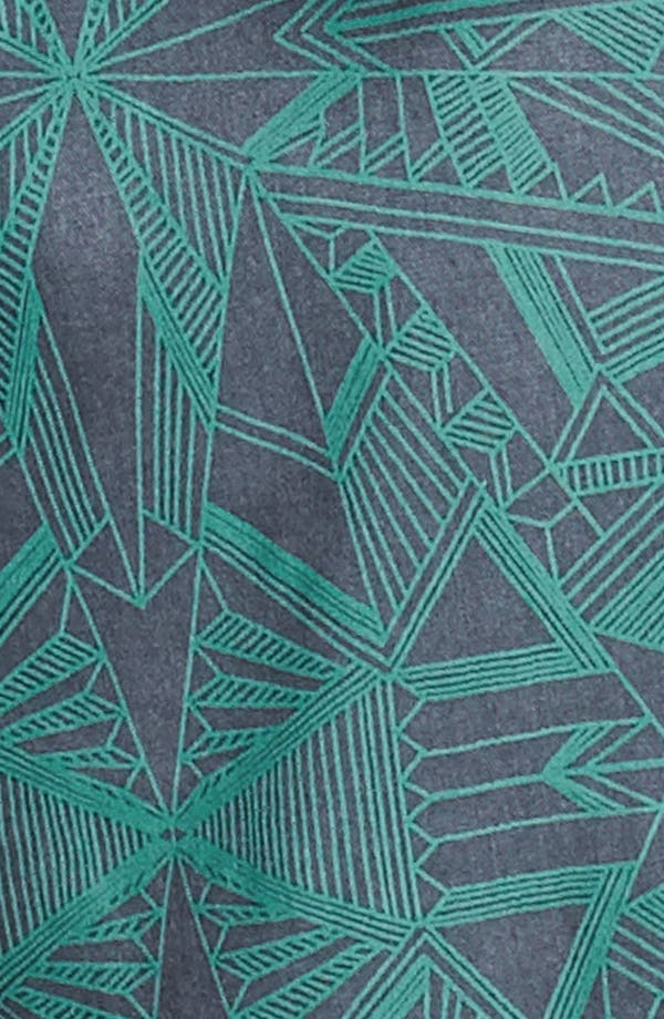 Alternate Image 3  - BP. High Waist Print Shorts (Juniors)