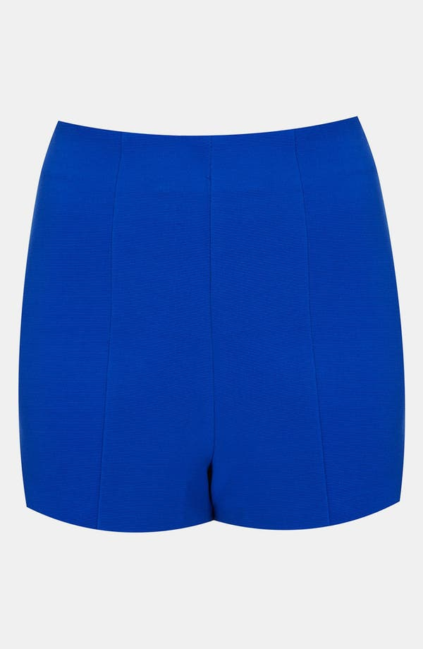 Alternate Image 1 Selected - Topshop 'Lola' High Rise Shorts