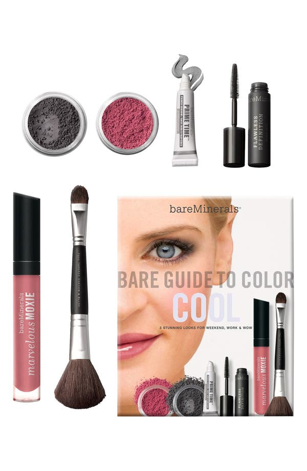 Alternate Image 1 Selected - bareMinerals® 'Bare Guide' Cool Color Kit ($94 Value)