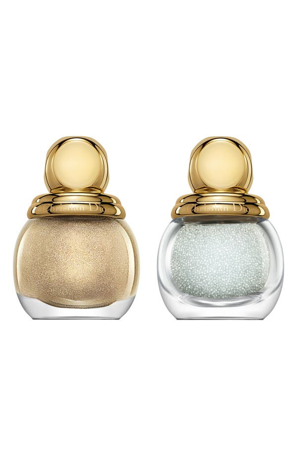 Alternate Image 1 Selected - Dior 'Diorific - Golden Winter Holiday Look' 3D Jewel Manicure Duo (Limited Edition)