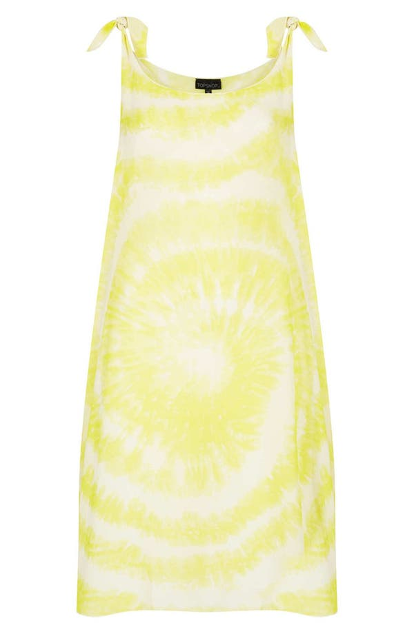 Alternate Image 3  - Topshop Tie Dye Cover-Up