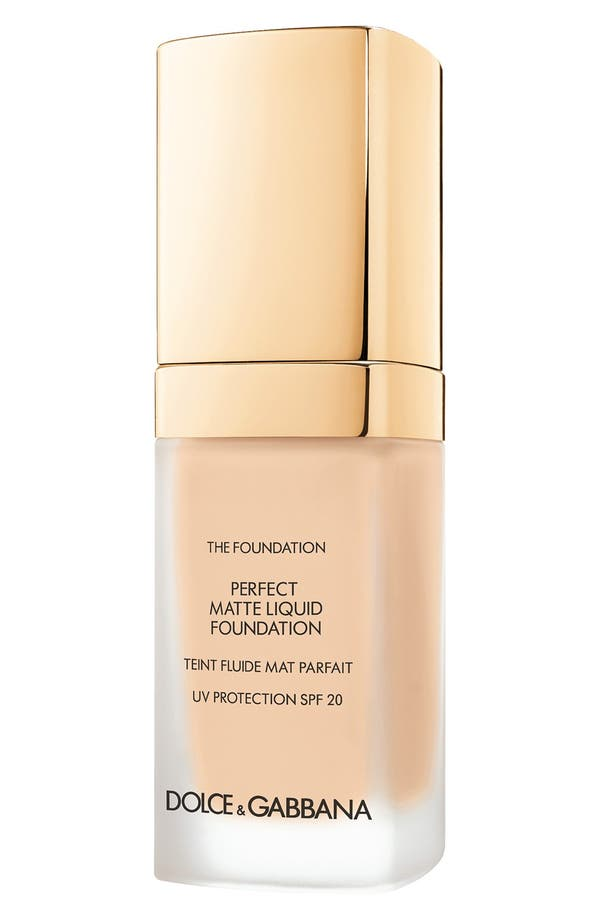 Main Image - Dolce&Gabbana Beauty Perfect Matte Liquid Foundation