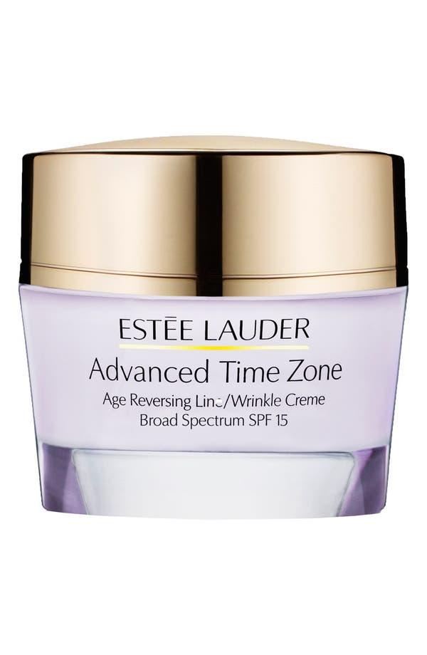 Main Image - Estée Lauder Advanced Time Zone Age Reversing Line/Wrinkle Creme Broad Spectrum SPF 15