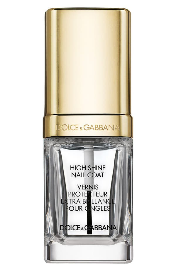 Alternate Image 1 Selected - Dolce&Gabbana Beauty 'The Nail Lacquer' Liquid High Shine Top Coat