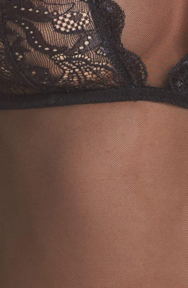 Alternate Image 5  - Felina Eleanor Lace & Mesh Bodysuit