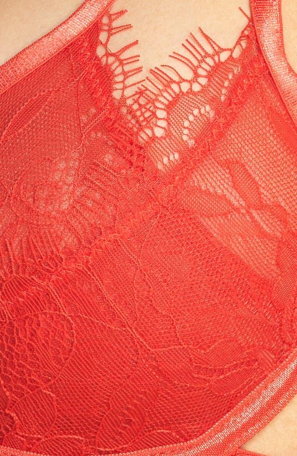 Arabella Underwire Bra,                             Alternate thumbnail 7, color,                             Red