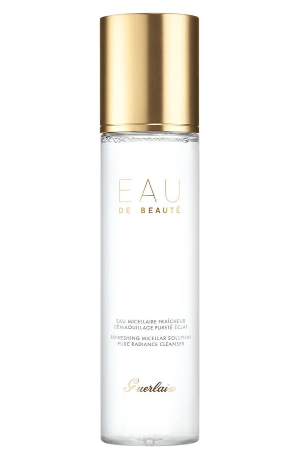 Alternate Image 1 Selected - Guerlain 'Secret de Pureté - Eau de Beauté' Miceller Cleansing Water