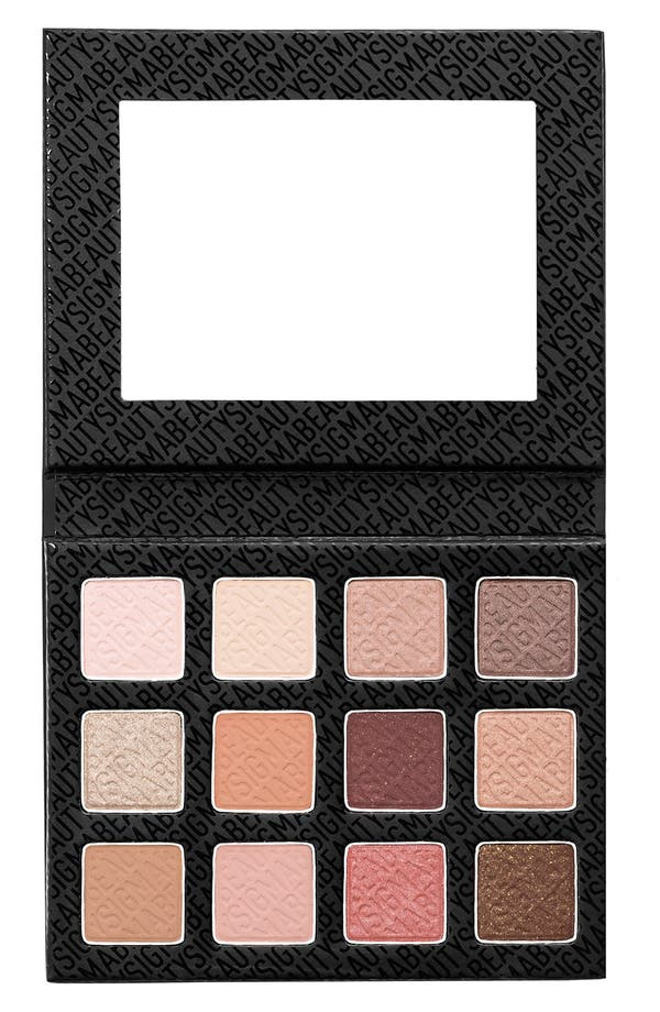 Alternate Image 1 Selected - Sigma Beauty Warm Neutrals Eyeshadow Palette