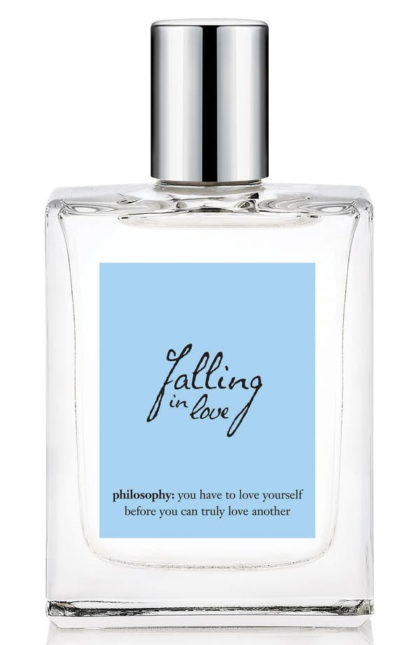 Alternate Image 1 Selected - philosophy 'falling in love' spray fragrance