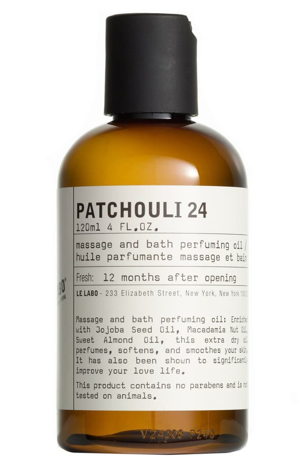 'Patchouli 24' Body Oil,                             Main thumbnail 1, color,                             No Color
