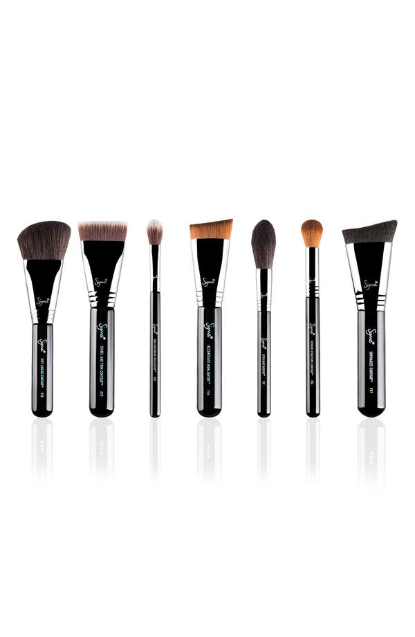 Complete Highlight & Contour Luxe Brush Set,                             Main thumbnail 1, color,                             No Color