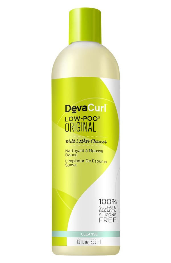 Alternate Image 2  - DevaCurl Low-Poo® Original Mild Lather Cleanser