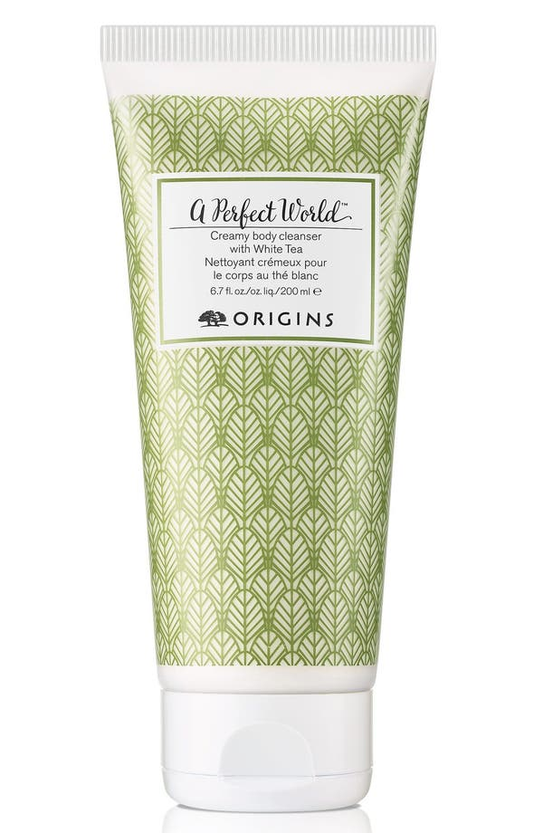 Alternate Image 1 Selected - Origins A Perfect World™ Creamy Body Cleanser with White Tea