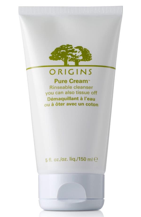 Main Image - Origins Pure Cream™ Rinsable Cleanser