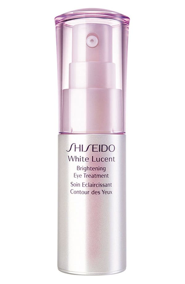 Alternate Image 1 Selected - Shiseido White Lucent Brightening Eye Treatment