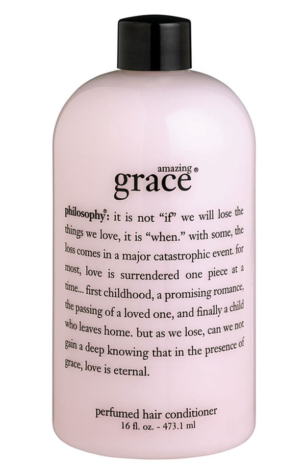 Alternate Image 1 Selected - philosophy 'amazing grace' conditioner
