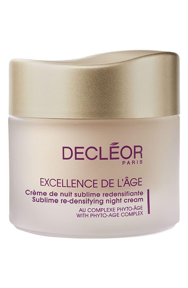 Main Image - Decléor 'Excellence de l'Âge' Sublime Re-Densifying Night Cream