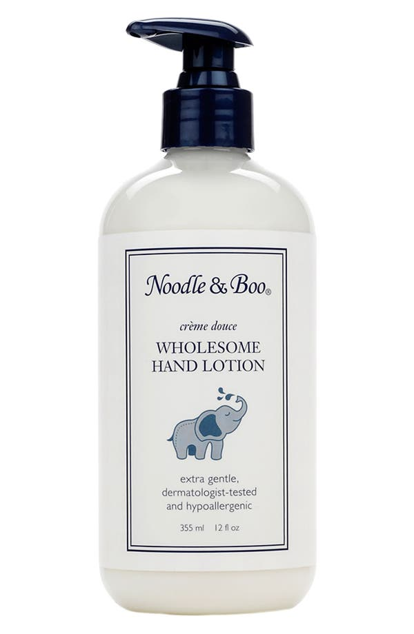 Alternate Image 1 Selected - Noodle & Boo Wholesome Hand Lotion