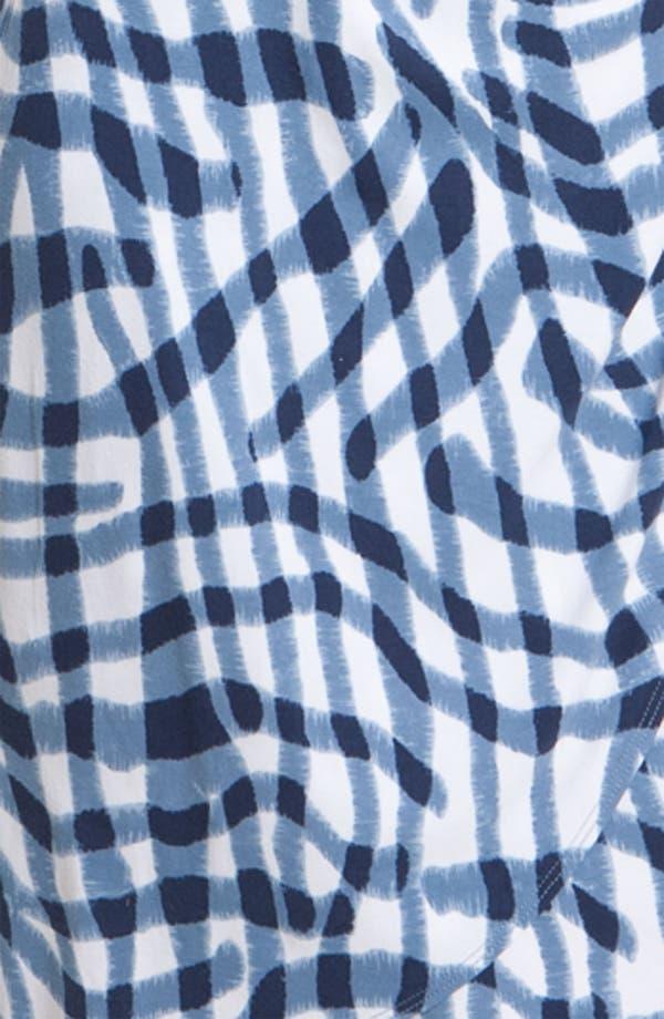 Alternate Image 3  - Tommy Bahama 'Zebra Plaid' Dress