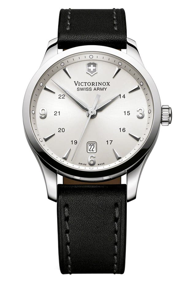 Alternate Image 1 Selected - Victorinox Swiss Army® 'Alliance' Large Watch, 40mm