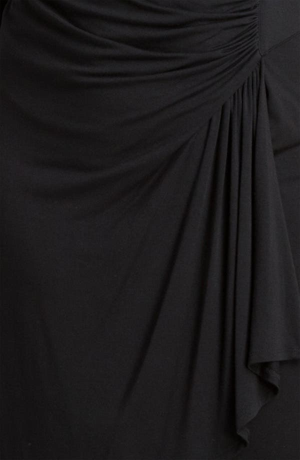Alternate Image 3  - Karen Kane 'Cascade' Faux Wrap Dress (Plus)