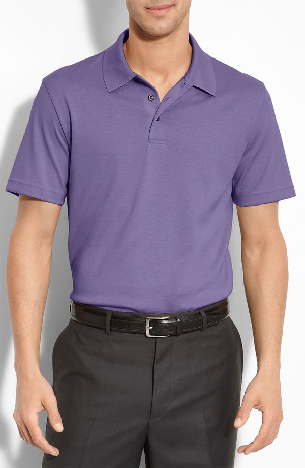 Main Image - Robert Barakett 'Palermo' Pima Cotton Polo