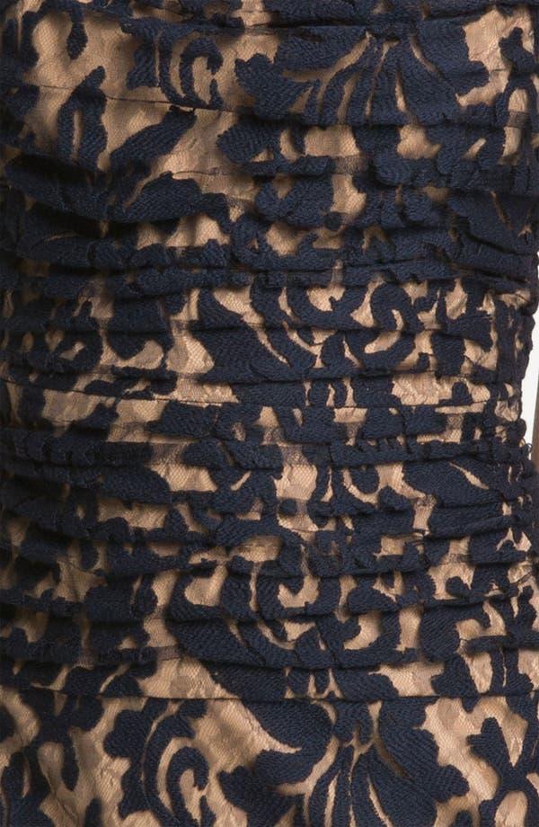 Alternate Image 3  - Tadashi Shoji Pleated Lace Dress