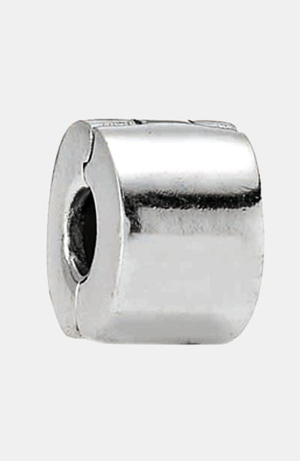 Alternate Image 1 Selected - PANDORA Plain Silver Clip Charm