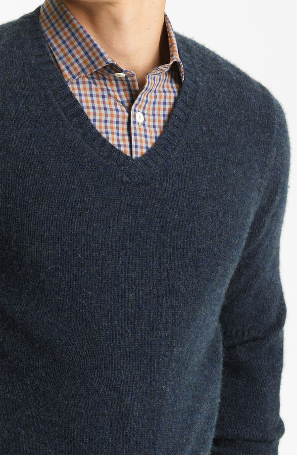 Alternate Image 3  - Billy Reid 'Landry' Cashmere V-Neck Sweater