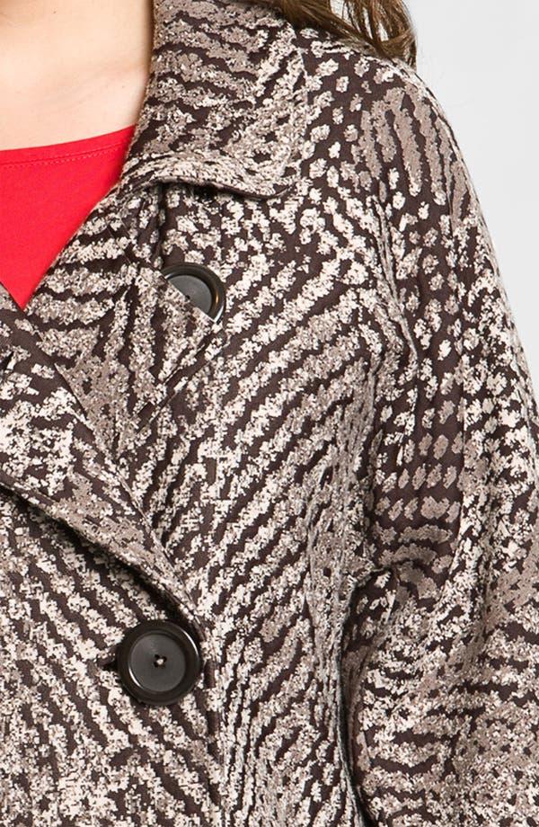 Alternate Image 3  - Nic + Zoe 'Textured Dots' Knit Jacket (Plus)