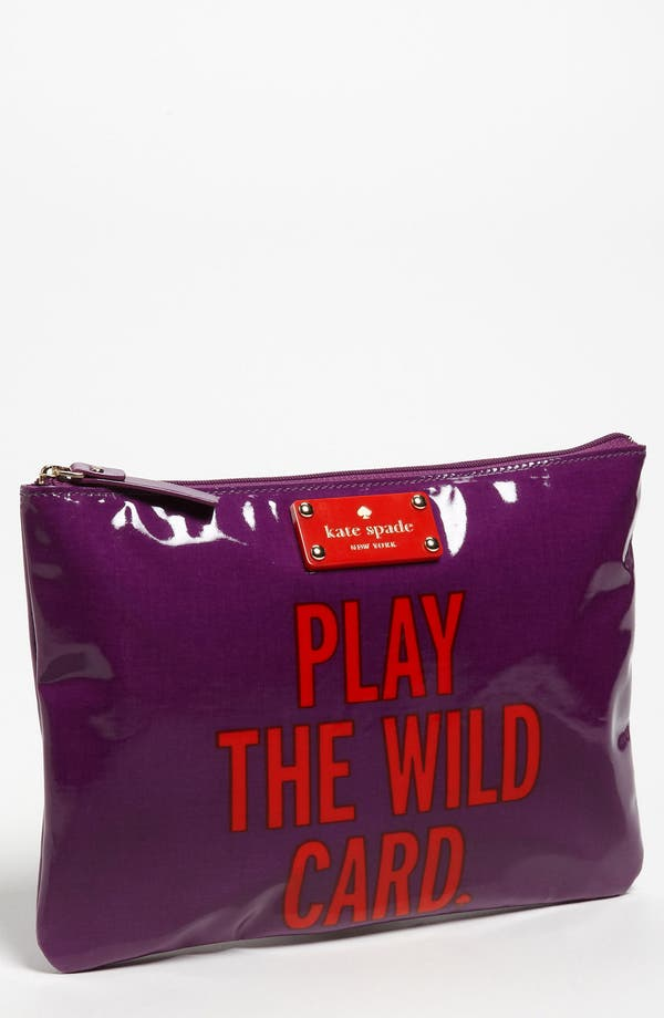 Main Image - kate spade new york 'daycation - gia' flat pouch