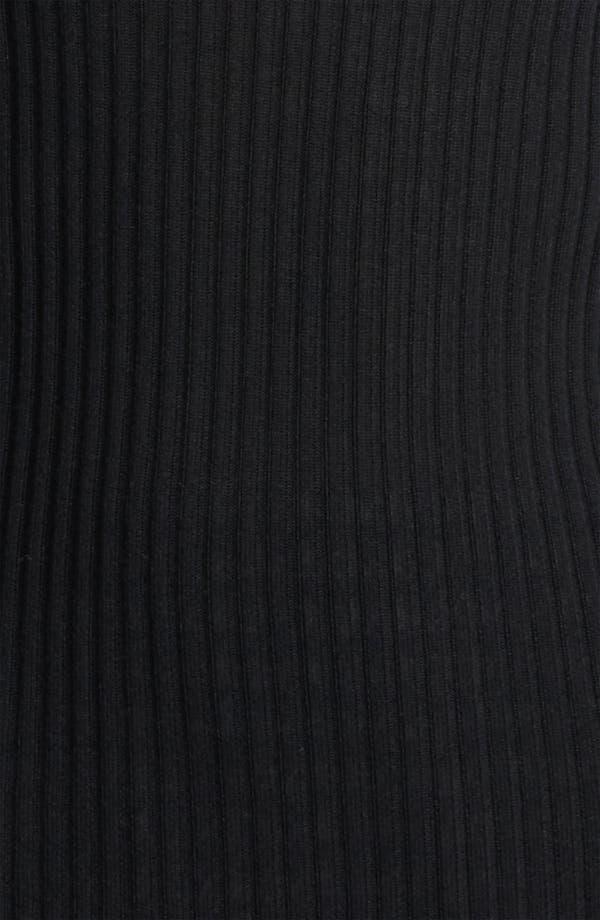 Cashmere & Silk Turtleneck,                             Alternate thumbnail 2, color,                             Black