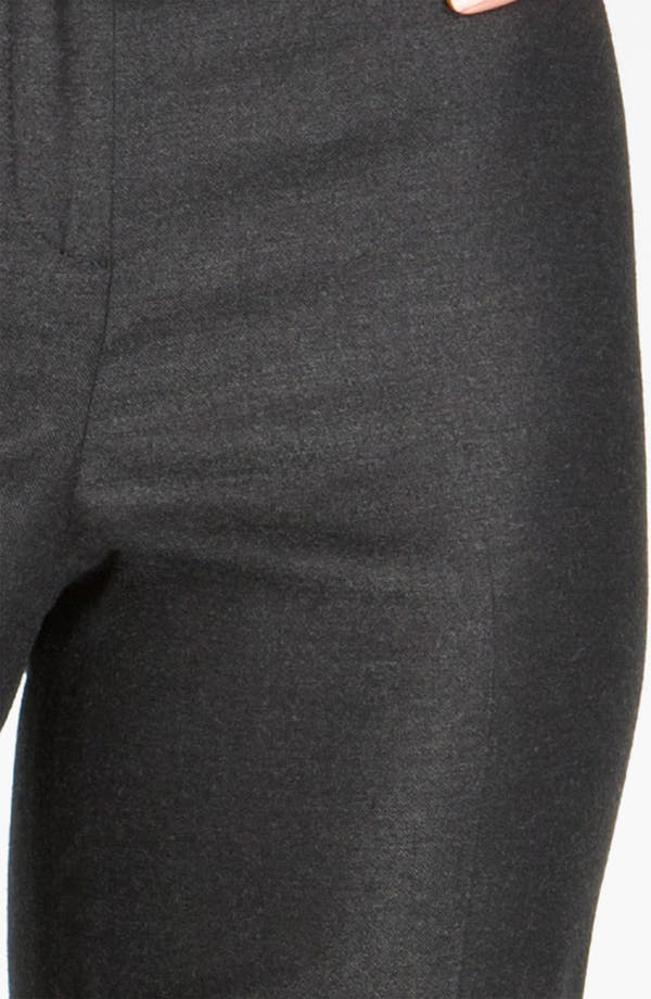 Alternate Image 4  - St. John Collection Straight Leg Stretch Flannel Pants