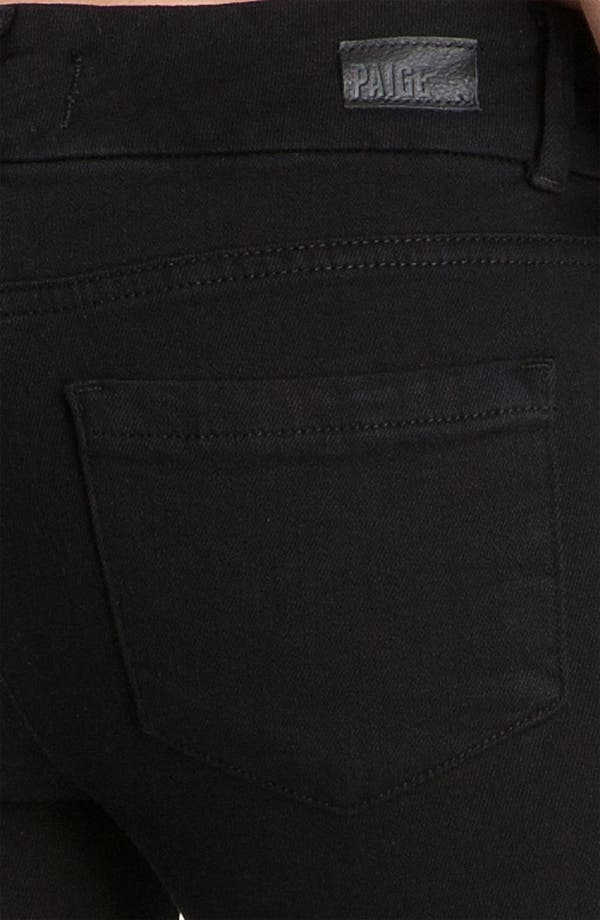 Alternate Image 3  - Paige Denim 'Kennedy' Bootcut Stretch Jeans (Black Ink)