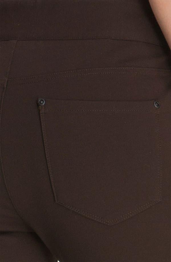 Alternate Image 3  - NYDJ 'Natasha' Skinny Ponte Pants (Petite)