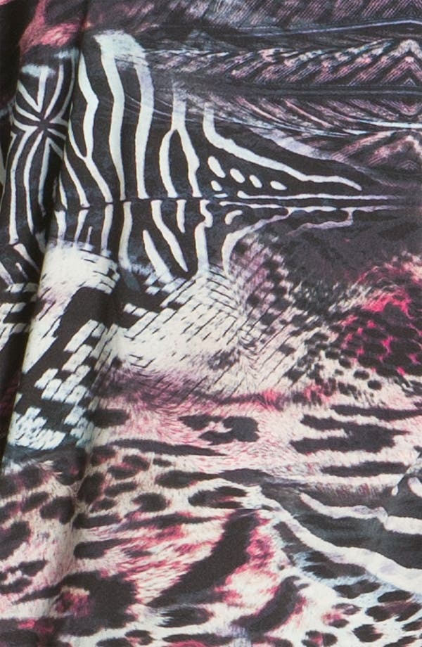 Alternate Image 3  - Nicole Miller 'Wild Animal' Lounge Tee