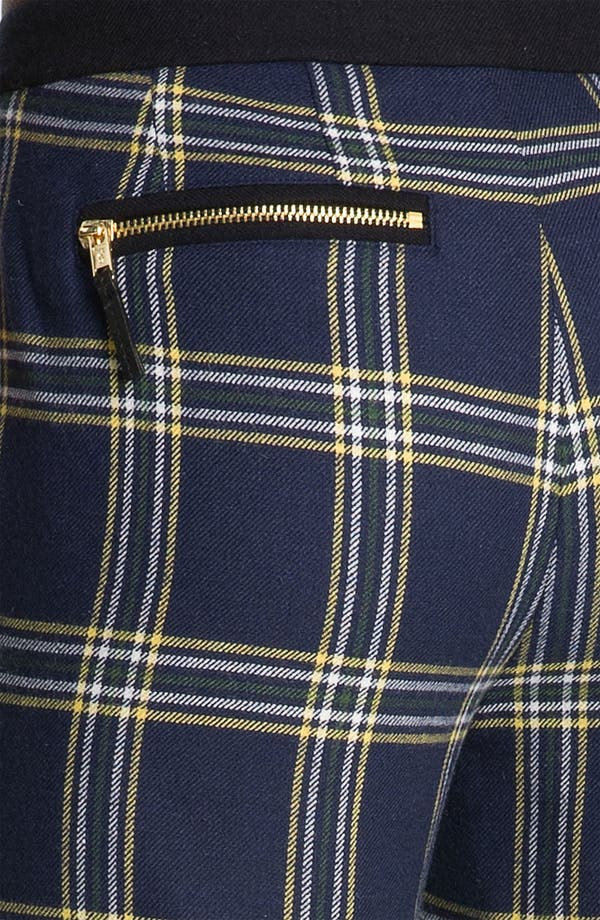 Alternate Image 3  - Juicy Couture 'Eton' Plaid Crop Pants